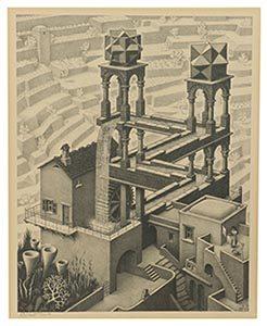 De Waterval M.C. Escher - Veilinghuis De Ruiter