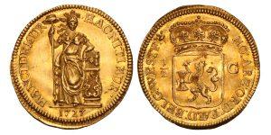 Halve gulden van 10 stuiver West-Friesland 1727 - Veilinghuis De Ruiter